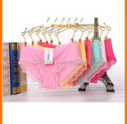 Wholesale Wholesale Women Panties - 70Z Sexy women ladies underwear lace panties girls panty L XL mix color free shipping