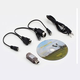 Wholesale Rc Cars Prices - Wholesale- Factory Price New All in Flight Simulator Cable USB Dongle for RC Helicopter Aeroplane Car Mar wholesale H30 @