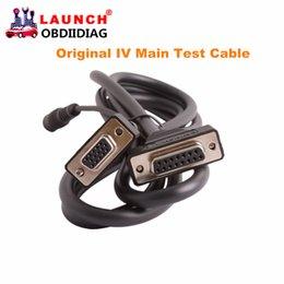 Wholesale Launch X431 Main Cable - 100% Original Launch X431 IV Main Test Cable,X431 main cable for launch IV Free Shipping