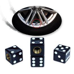 Wholesale Dice Caps - Auto Car Truck Motorcycle Tire Air Valve Cap Tyres Wheel Dust Stems Dice Caps Bolt In Type 4pcs set