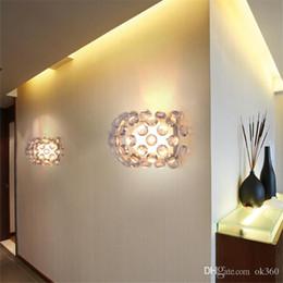 foscarini lampen Rabatt Moderne Foscarini Caboche LED Wandleuchte Eliana Gerotto 350mm * 190mm Wandleuchte LED Licht für Schlafzimmer Flur Esszimmer Innenleuchten