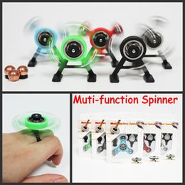 Wholesale Center Function - Muti-function Spinner Fidget Spinners Snap Spinner Center Snap Goll Slide Top Spin Pencil EDC Toy Decompression Toys with Retail Packaging