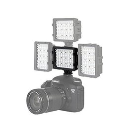 Wholesale Digital Slr Video Camera - 48pcs LED Bulbs 3200K-5400K Hot Shoe Flashlight Video Light Lamp for Camcorder Digital Camera Canon Nikon Sony Pentax Panasonic Olympus SLR