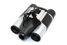 BINOCULO Câmera 5X lente telescópica Telescópio câmera gravador de vídeo BINOCULAR DVR Pinhole câmera preta na caixa de varejo dropshipping de