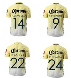 Wholesale Wholesale Sport Jersey Kit - America 2016 Home 24 Oribe Peralta Thai Quality soccer jersey shirT,9 Romero Football Shirts New Kit,22 Aguilar Sports Soccer Jerseys wear