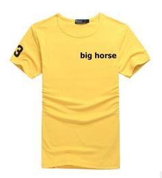 Wholesale Factory Big Man - Factory direct selling brand men's shirt big horse 2208 men's t-shirt Polos