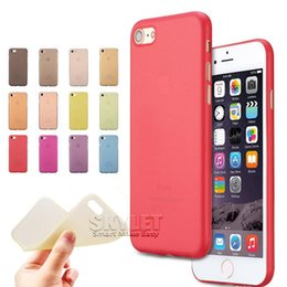 Wholesale Transparent Plastic Package - Slim Matt Cases For iPhone 6 Case Ultra Thin TPU Case Soft Matt Transparent TPU Gel Cover Cases For iPhone 5 iPhone 6 Plus with OPP Package