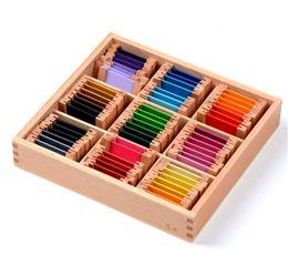 2019 puzzles das crianças Novo brinquedo de madeira do bebê caixa de tablet cor de madeira montessori educação infantil pré-escolar formação kids toys presentes do bebê