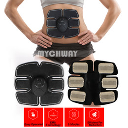 Wholesale Abs Exercise - Abdominal Muscle Trainer Ab Toning Belt, Muscle Toner Toning Belt Ab Belts Core Training Gear Abs Exercise Machine Waist Trainer