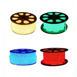 Wholesale Ip67 Led Strip 3528 - New SMD3528 LED Strips LED Flashing Lights 1M 60 Leds 110V 220V Waterproof with A Plug IP67