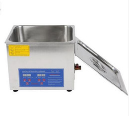 Wholesale Ultrasonic Heater - 20L Ultrasonic cleaner with Timer Heater 33*30*20 free basket 420W 110V or 220V