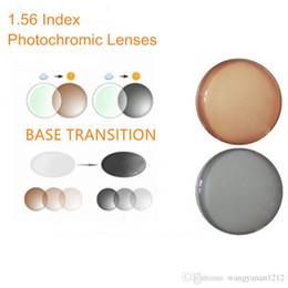 антибликовые линзы Скидка Индекс 1.56 фотохромные линзы по рецепту переход серый коричневый линзы для близорукости блики/анти-дальнозоркостью очки O156 объектив