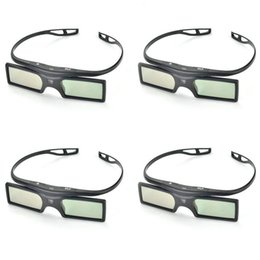 Wholesale Optoma 3d For Glasses - Wholesale- Newest G15-DLP 3D Active Shutter Glasses For Optoma Sharp LG Acer BenQ DLP-LINK DLP Link Projectors 3d Glasses