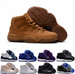 Wholesale Ultimate Orange - New Air Retro 11 Ultimate Gift of Flight Blue Pantone Men Basketball Shoes Retros 11s Beige Maroon Sports Sneakers Size 40-47 WithBox