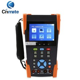 "Wholesale Cctv Function - 3.5"" LCD CCTV Tester Digital Multimeter Ping IP POE Test 4G SD Card Line Function HVT-2603"