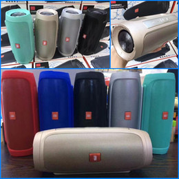 Wholesale Speaker Box Light - New Charge 4 Bluetooth Speaker Portable Wireless Hifi Speaker Big Sound Box Support TF Card Without LED Light