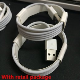 Wholesale Oem Charger Data - Micro USB Charger Cable A+++++ Quality OEM 1M 3Ft 2M 6FT Sync Data Cable Cords With Retail Box For Phone Samsung S6 S7 Edge Note 4 5 6 7
