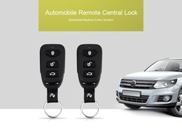Wholesale Keyless Central System - 12V Universal LB - 405 L240 Car Automobile Remote Central Lock Keyless Entry System Power Window Switch with Blue LED Indicator 192839701