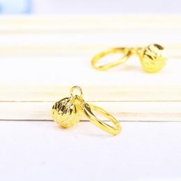 24k vergoldete perlen online-Heiße Ohrringe verblassen nicht Geschenk für Frauen Art und Weisehochzeits kleidete 24K Gold überzogene feine Schmucksache-Förderung-europäische Korn-Großverkauf-freies Verschiffen