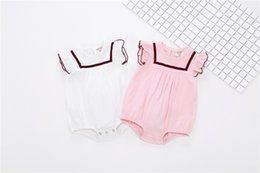 Wholesale Baby Wear Garment - Female baby, baby conjoined garment, children's wear, summer short sleeve, ha clothes