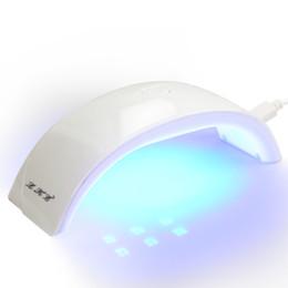 Wholesale Led Gel Lamp 12w - Wholesale- New Style LED UV Nail Dryer,Portable Support USB LED Lamp Nail Dryer Curing For UV Gel Quick-Dry 12W Support USB Charge