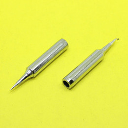 Wholesale Free Soldering Iron - Wholesale- TL-047 Lead-free Replaceable 900M-T-I Soldering Iron Tips For Soldering Station
