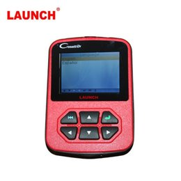 Wholesale Peugeot Screen - Original Launch CResetter Oil Lamp Reset Tool With LCD Screen Update online Muilt-Language Support English Spainish OBD II Tool