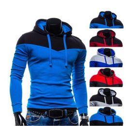 Wholesale Wholesale Long Fleece Hoodie - Wholesale- Fashion plus size 3XL,men hoodies fleece hoody men sweatshirts top brand fashion printed men clothing outwear