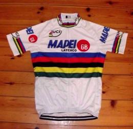 Wholesale Gb Cycling Jersey - Mapei GB world Champiomens Ropa Ciclismo Cycling Clothing MTB Bike Clothing  Bicycle Clothes 2018 cycling uniform Cycling Jerseys 2XS-6XL J4