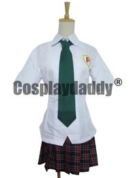 Wholesale Garterbelt Cosplay Costume - Panty & Stocking with Garterbelt Cosplay Anarchy Panty School Uniform H008