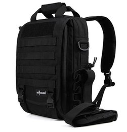 Wholesale Travel Laptop Bags Tactical - Outdoor Sport Tactical Military Backpack For Men Camping Hiking Travel Backpack 14 Inch Laptop Bag Single Shoulder Daily Backpack