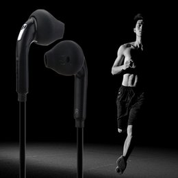 Wholesale Headphone Sport Fashion - New Fashion Sport Running Headset with Mic 3.5mm In-Ear Wired Earphone Earbuds Stereo Headphones Universal for Xiaomi iPhone PC