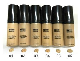 Wholesale Blue Minerals - NYX HD Studio Photogenic Foundation high definition Mineral-enriched talc-free paraben-free nyx liquid foundation 6colors high quality