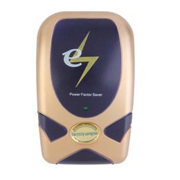 Wholesale Electricity Savings Devices - Wholesale-28KW Digital Home Electricity Power Energy Saver Smart LED Electricity Saving Box Electric Save Device Up To 30% US UK EU Plug
