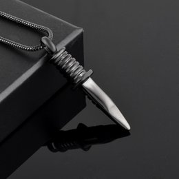 Wholesale Black Army Swiss - IJD9792 Swiss Army knife Cremation Urn Necklace for Men Personalized Stainless Steel Pet Dogs Cats Ashes Holder Keepsake Memorial Locket
