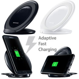 Wholesale Charger Stands - Fast Charger wireless charger charging stand Dock For Samsung Galaxy S6 Edge plus S7 Edge plus s6 and s7