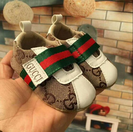 Wholesale First Strap - Children Soft Bottom Sneakers Shoes Fashion Baby Boys Girls First Walkers Baby Indoor Non-slip Toddler Casual Kids Shoes