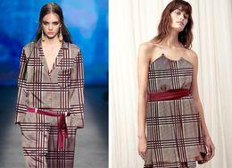 Wholesale Fabric Process - wholesale etro England lattice pattern elastic silk fabrics dresses Process tweed cheap-fabric tecido stripe scrapbooking B770