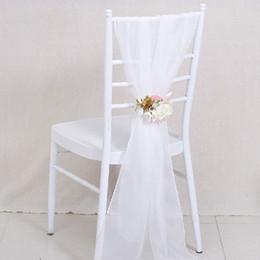 pajarita cubierta de strass Rebajas Fiesta de cumpleaños de la boda Fiesta Fiesta de cumpleaños decoración del lugar Decoración brillante del diamante Damas telón de fondo boda suministros silla cubre