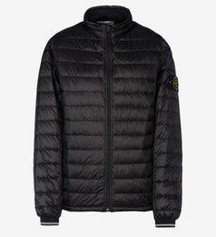 Wholesale Winter Men S Style - 2017 Spring SummerFall Winter Men's Lightweight Ultralight Down Jacket Parka Style isLANDS River Black Stones Color Blue S-XXL