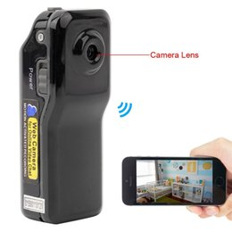 Wholesale Hidden Spy Mobile Phone - Mini Portable P2P WiFi IP Hidden Spy Camera Indoor and Outdoor Video Recorder DV Action Camcorder for Mobile Phone PC Remote View