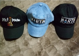 Wholesale Custom Purple Hats - New Martin Show Cap baseball Retro Dad Hat Drake OG Custom 90s X Logo Vtg Trapsoul RAF SIMONS bone golf casquette VETEMENTS hats