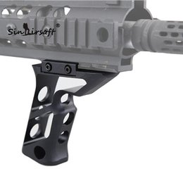 Wholesale New Unmarking fortis Shift Vertical Grip Short Angled Grip Tactical Foregrips For Airsoft Picatinny Weaver mm Rail Type