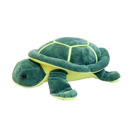 Wholesale Cute Turtle Plush - 42cmcm Super Cute Turtle Tortoise Doll with Big Eyes Stitch Plush Toys Girls Kids Turtle Toy Gift For Children's Birthday
