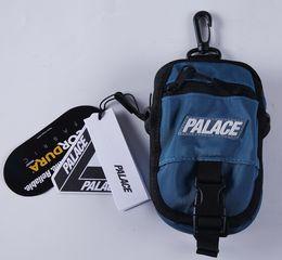 Wholesale Canvas Shoulder Bag Man - palace Skateboard LOGO SHOT BAG high - quality fashion attractive cute casual men' s shoulder bag mini Messenger bag 2017