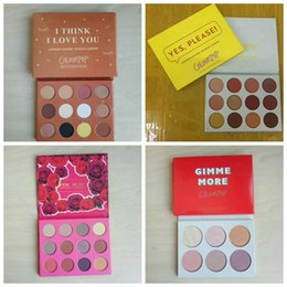 Wholesale Mixing Water Colors - New ColourPop Cosmetics makeup palettes 12 color eyeshadow palette eyeshadow MIX DHL Free shipping+GIFT.