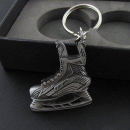 Wholesale Wholesale Custom Sneakers - Hot Sale Enamel roller skates shaped custom metal sneaker keychain
