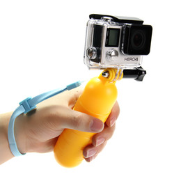 Wholesale Hero Underwater - Sport Camera Accessories Water Floating Hand Grip Handle Mount Float Accessory for Gopro Hero 5 5s 4 3+ 2 XIAOMI YI underwater camera float