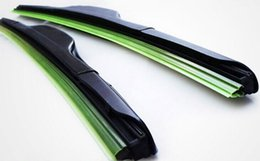 Wholesale Wiper Blades Wholesale - DHL free Car Wiper Blade Natural Rubber Car Wiper auto soft windshield wiper any size choice 14-24in LLFA