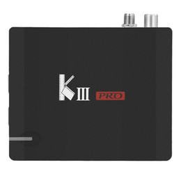 Wholesale Hdmi Hd Dvb - 5PCS MECOOL KIII PRO DVB-T2 S2 TV BOX S912 3G 16G 802.11AC WIFI Bluetooth 1000M LAN